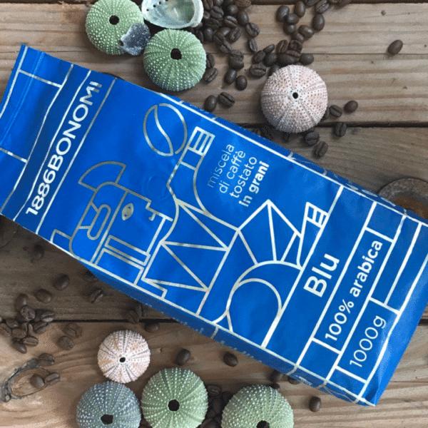 Bonomi Blu 100% arabica koffiebonen